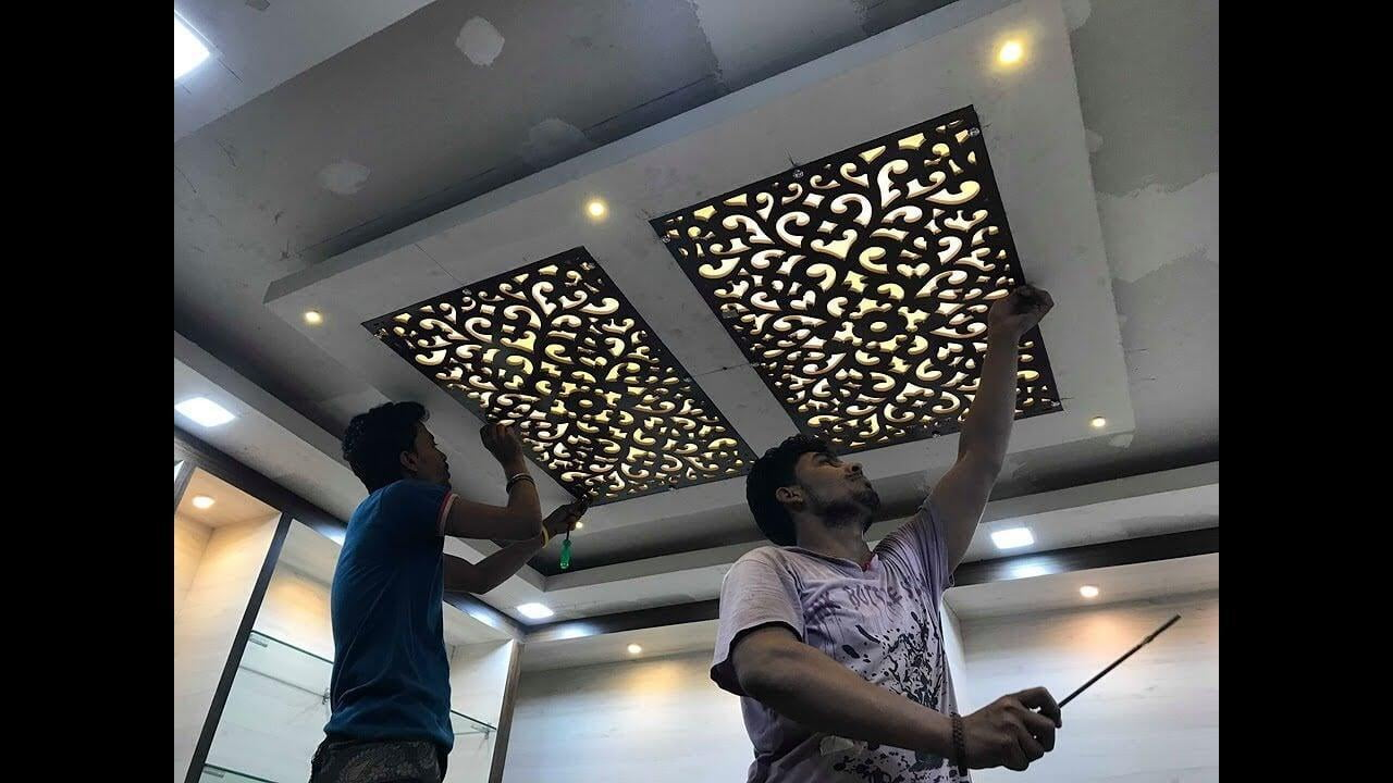 Customize Ceiling Jali at Zero Cost.