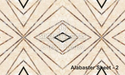 Alabaster Sheet SBAS1004
