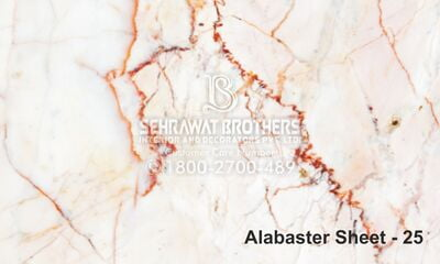 Alabaster Sheet SBAS1025