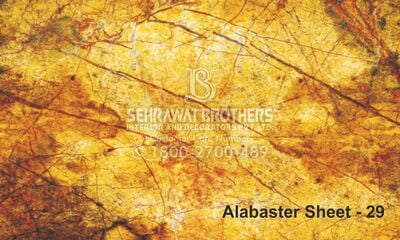 Alabaster Sheet SBAS1029