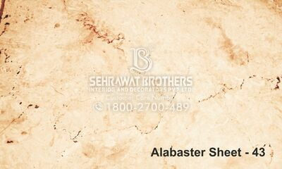 Alabaster Sheet SBAS1043