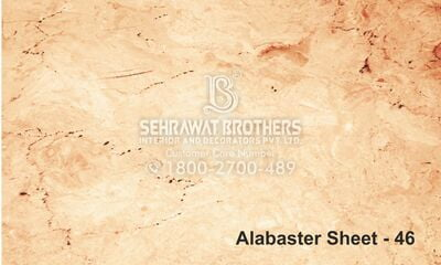 Alabaster Sheet SBAS1046