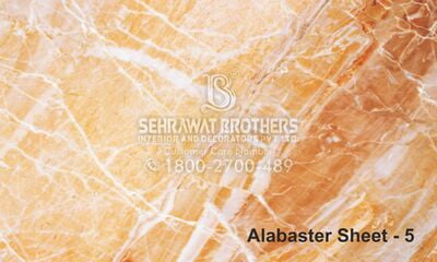 Alabaster Sheet SBAS1007