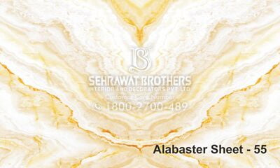 Alabaster Sheet SBAS1055