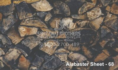 Alabaster Sheet SBAS1068